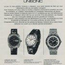 Universal Geneve Watch Company Unisonic Advert Vintage 1971 Swiss Ad Suisse Advert Switzerland