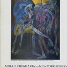 Mihail Chemiakin New York Period 1987 Paris Art Exhibition Ad Advert Advertisement