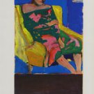Richard Diebenkorn Seated Woman Art Ad Advertisement
