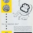 Ebauches S.A. Company 1956 Swiss Ad Neuchatel Suisse Advert Horlogerie Horology Alertic