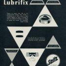 Seitz Lubrifix Company Vintage 1956 Swiss Ad Suisse Advert Horlogerie Horology