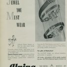 Alpina Watch Company 1950 Swiss Ad Bienne Switzerland Suisse Horlogerie