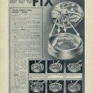 Parechoc DuoFix Vintage 1956 Swiss Print Ad Advert Suisse Publicite Horology Horlogerie