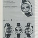 1972 Herma Watch Company Anguenot Freres S.A. France 1972 Swiss Ad Suisse Advert