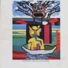 Karel Appel The Discovery 1987 Art Exhibition Ad Advert Marisa Del Re Gallery