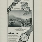 1950 Gubelin Watch Company Switzerland Vintage 1950 Swiss Ad Suisse Advert Horlogerie Horology