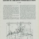 1949 Horology Execution of a Time-Setting Pivoted Detent Spring 1949 Swiss Magazine Article