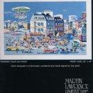 Yamagata Vintage 1982 Art Ad Perrier Tour de Paris