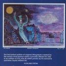 1982 Marcel Marceau Bip's Dreams Vintage 1982 Art Ad Mime Advertisement