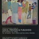 David Schneuer Vintage 1982 Art Ad Bonjour Advert