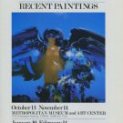 Alejandro Obregon 1982 Art Exhibition Ad Advert