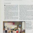 1975 In Praise of Bradley Walker Tomlin Vintage 1975 Magazine Article by David Bourdon