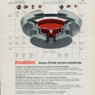 1965 Incabloc Portescap Watch Parts Company 1965 Swiss Ad Suisse Advert Horology Horlogerie
