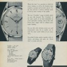 Certina Watch Company Certina Certidate Advert 1957 Swiss Ad Switzerland Suisse Advert