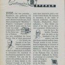 1956 Eterna Watch Company 100th Anniversary Vintage 1956 Swiss Ad Suisse Advert Switzerland