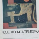 1974 Roberto Montenegro Vintage 1970's Art Ad Magazine Advertisement Galeria Tasende Mexico