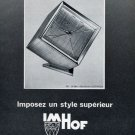 1965 Imhof Clock Company Switzerland 1965 Swiss Ad Suisse Advert Horology
