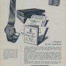 1956 Vacheron & Constantin Watch Company 1956 Swiss Ad Suisse Advert Geneva Switzerland Horology