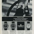 1968 Tissot Watch Company Switzerland Vintage 1968 Swiss Ad Suisse Advert Horology
