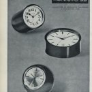 1965 Montremo Clock Company Switzerland Vintage 1965 Swiss Ad Suisse Advert