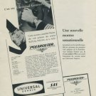 1956 Universal Geneve Watch Company SAS Royal Viking Polarouter Advert 1956 Swiss Ad Suisse Advert