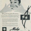 1956 Mido Watch Company Mido Powerwind Advert Vintage 1956 Swiss Ad Suisse Advert Horology