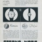 Eterna Watch Company Eterna Matic 1957 Swiss Ad Suisse Advert Grenchen Switzerland