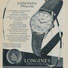 1957 Longines Watch Company Vintage 1957 Swiss Ad Switzerland Suisse Advert Horlogerie
