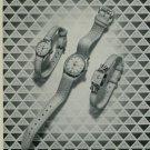 1950 Orano Watch Company Langnau Switzerland Vintage 1950 Swiss Ad Suisse Advert