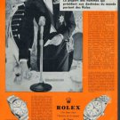 1956 Rolex Watch Company Vintage 1956 Swiss Ad Suisse Advert Horology Horlogerie Switzerland