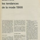 1965 Montres et Bijoux Vintage 1965 Swiss Magazine Clipping Horology