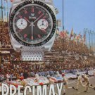 1972 Precimax Watch Company Switzerland Vintage 1972 Swiss Ad Suisse Advert Horology Horlogerie