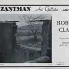 1969 Robert Clark Arizona Adobe Vintage 1969 Art Exhibition Ad Advert Zantman Art Galleries