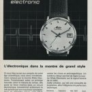 1968 Mido Watch Company Bienne Switzerland Vintage 1968 Swiss Ad Suisse Advert Horology
