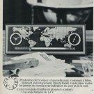 Derby Vox Clock Company Switzerland Vintage 1968 Swiss Ad Suisse Advert Horology