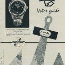 1956 Sandoz Watch Company Polemaster Advert Vintage 1956 Swiss Ad Suisse Advert Switzerland