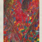 Jim Dine Jerusalem Heart Art Ad
