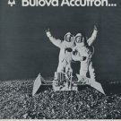 1969 Bulova Watch Company Accutron Advert 1969 Swiss Ad Suisse Advert Mercury Gemini Apollo