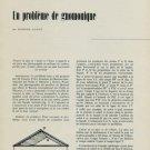 1956 Un Probleme de Gnomonique by Edmond Guyot 1956 Swiss Magazine Article Horology Gnomon Sundial