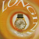 Longines Watch Company Ultra-Chron Vintage 1969 Swiss Ad Suisse Advert Horology