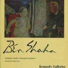 Ben Shahn Vintage 1968 Art Exhibition Ad Advert Kennedy Galleries, NY
