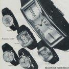 Maurice Guerdat Watch Company Switzerland Vintage 1972 Swiss Ad Suisse Advert Horlogerie Horology