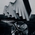 1969 Sculptor George Sugarman and Bernard Rosenthal Vintage 1969 Art Ad Advert