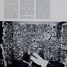 1969 Jean Dubuffet As A Writer Vintage 1969 Art Magazine Article by John Russell