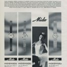 1969 Mido Watch Company Switzerland Mido Minimido Advert Vintage 1969 Swiss Ad Suisse Advert