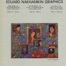 Igor Tulipanov 1980 Art Exhibition Ad Advert Eduard Nakhankin Galleries