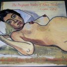 Alice Neel 1996 Art Exhibition Ad Pregnant Nudes