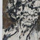 Frank Auerbach Head of Helen Gillespie Art Ad Advertisement