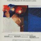 Alvar Vintage 1980 Art Ad Interieurs Suite Blue