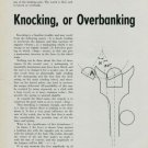 1949 Knocking or Overbanking by L. Defossez Vintage 1949 Swiss Magazine Article Horology